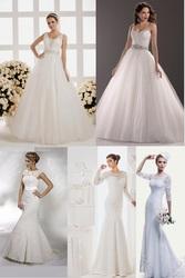 Свадебные платья под заказ - коллекция  Рубин