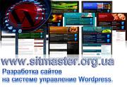 Разработка сайта на Wordpress,  seo продвижение - 1150 грн.