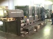 4-х красочная печатная листовая офсетная машина гейдельберг,  В2