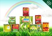 Овощная консервация от производителя (Китай)