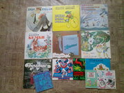 продам пластинки вениловые детские сказки