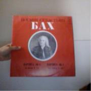 пластинки классика орган БахБетховен