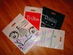 Пакеты с логотипом компании. Печать на пакетах из полиэтилена.