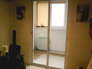 Раздвижные двери – выход на балкон – холодные и теплые