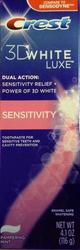 СУПЕР Отбеливающая зубная паста Crest 3D White Luxe Sensitivity- США