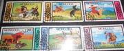 коллекция марок  Монголия