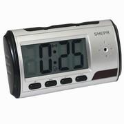 Часы настольные электронные мини HD видеокамера детектор движения фото