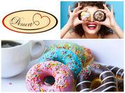 Маффины,  берлинеры,  донаты,  капкейки,  торты от Desserts.com.ua