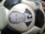 1981г Мяч с автографами 10-и кратного чемпиона СССР Динамо Киев