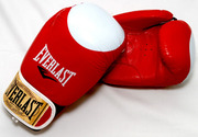 Боксёрские кожаные перчатки Everlast и BWS (Пакистан)