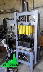 Пресс гидравлический для производства шлакоблока и тротуарной плитки