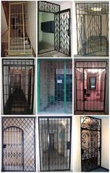 Решетчатые двери и перегородки