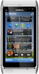 Новый Nokia N8 Silver
