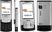 Новый Nokia 6500 Slide Silver