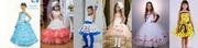 Детские нарядные платья под заказ 3-14 дней,  2016г.