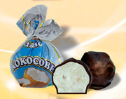 Конфеты шоколадные кокосовое чудо
