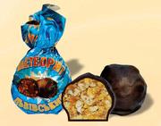 Конфеты шоколадные метеорит львовский