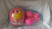 Детский защитный комплект шлем+защита на руки,  ноги,  кисти