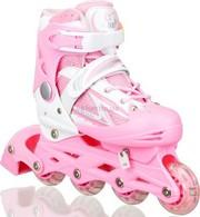 Раздвижные ролики Master Sport 38-43: розовый цвет
