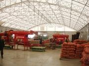 Ангары для хранения картофеля под ключ в Украине,  строительство овощех