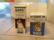 Набор: Барс капли для котов от блох и клещей + Барс спрей 81 грн