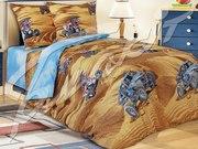 Подростковое постельное белье,  Комплект Сафари 3Д