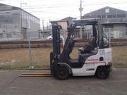 Газовый автопогрузчик Nissan P1F1A15D на 1.5 тонны
