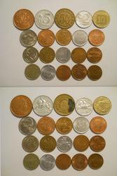 Монеты мира (4 грн./шт.)