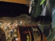 Стариная керасиновая лампа из гильзы 31г.!