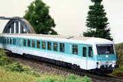 Модель дизель поезда BR 628.4,  DB AG,  V эпоха,  масштаб (1:120),  ТТ