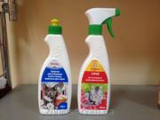 Подарочный набор Зоостирка + Спрей для уничтожения запаха кошачьих мет