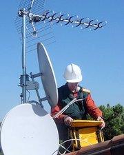 установка спутникового телевидения Киев и область