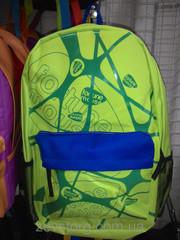 Рюкзак для ребенка салатово-синий