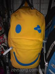 Веселый школьный рюкзак смайл