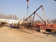 Продам фермы односкатные 13м бу
