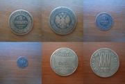 Продаются медные монеты . Нумизматика.