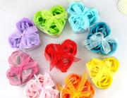 Мыльные лепестки роз,  купить ароматизатор в ванную,  форме сердца