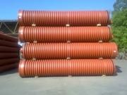 Труба гофрированная для наружной канализации