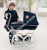 Кукольная ретро-коляска Hauck Retro Classic Navy  коляска для куклы