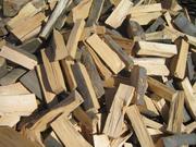 Дрова колоті дуб,  акація,  береза,  сосна,  тополя з доставкою