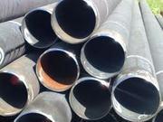 Труба стальная бесшовная г/к ф114х22(25)мм ст 20