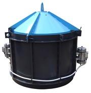 Вибро Форма Усиленная для производства железо бетонных колодезных коле