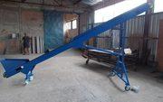 Конвейер передвижной-наклонный модульной конструкции 5м