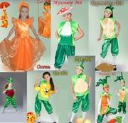 Прокат детских карнавальных костюмов  - Киев