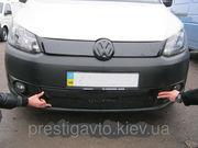 Зимняя накладка на решетку радиатора Volkswagen Caddy (2010-2014) низ