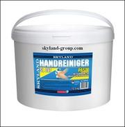 Крем-паста для сильно загрязненных рук (абразив - песок,  запах лимон)