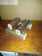 Топливные брикеты (евродрова) с опилок дуба для твердотопливных котлов