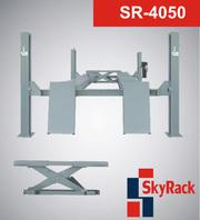 Автомобильный четырехстоечный подъемник Sky Rack-4050.