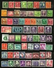 Продам оптом почтовые марки США 1912-1978 гг. в количестве 120 шт