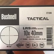 Продам оптику Bushnell Elite Tactical 10x40mm Mil-Dot LRS